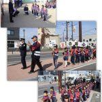 石巻カトリック幼稚園防火パレード