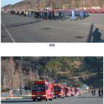 石巻市消防団石巻地区団消防出初式