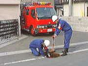 消火栓・防火水槽の点検